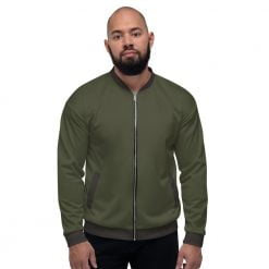 Olive Men's Bomber Jacket