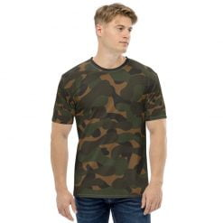 Dark camouflage Men's Printed T-shirt