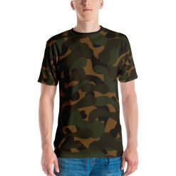 GRAPHIC FLORAL SLOGAN ALLOVER ANIMAL PRINTS CAMOUFLAGE BASICS $0.00 0 No products in the cart. DASHBOARD ORDERS DOWNLOADS ADDRESSES PAYMENT METHODS ACCOUNT DETAILS WISHLIST LOGOUT WISHLIST HOME / WOMEN / ALL-OVER SHIRTS Dark camouflage Men's All-Over Printed T-shirt