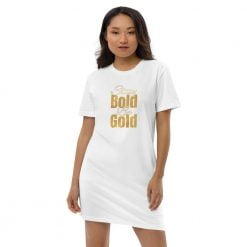 Stay Bold be Gold dress by wtevv